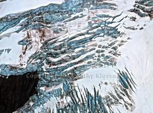 Blue Glacier Art Alaska
