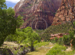 Zion Canyon Park Utah