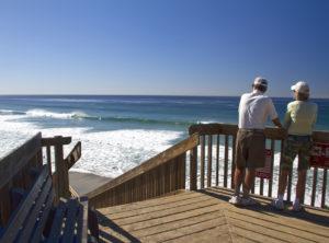 California Beach View